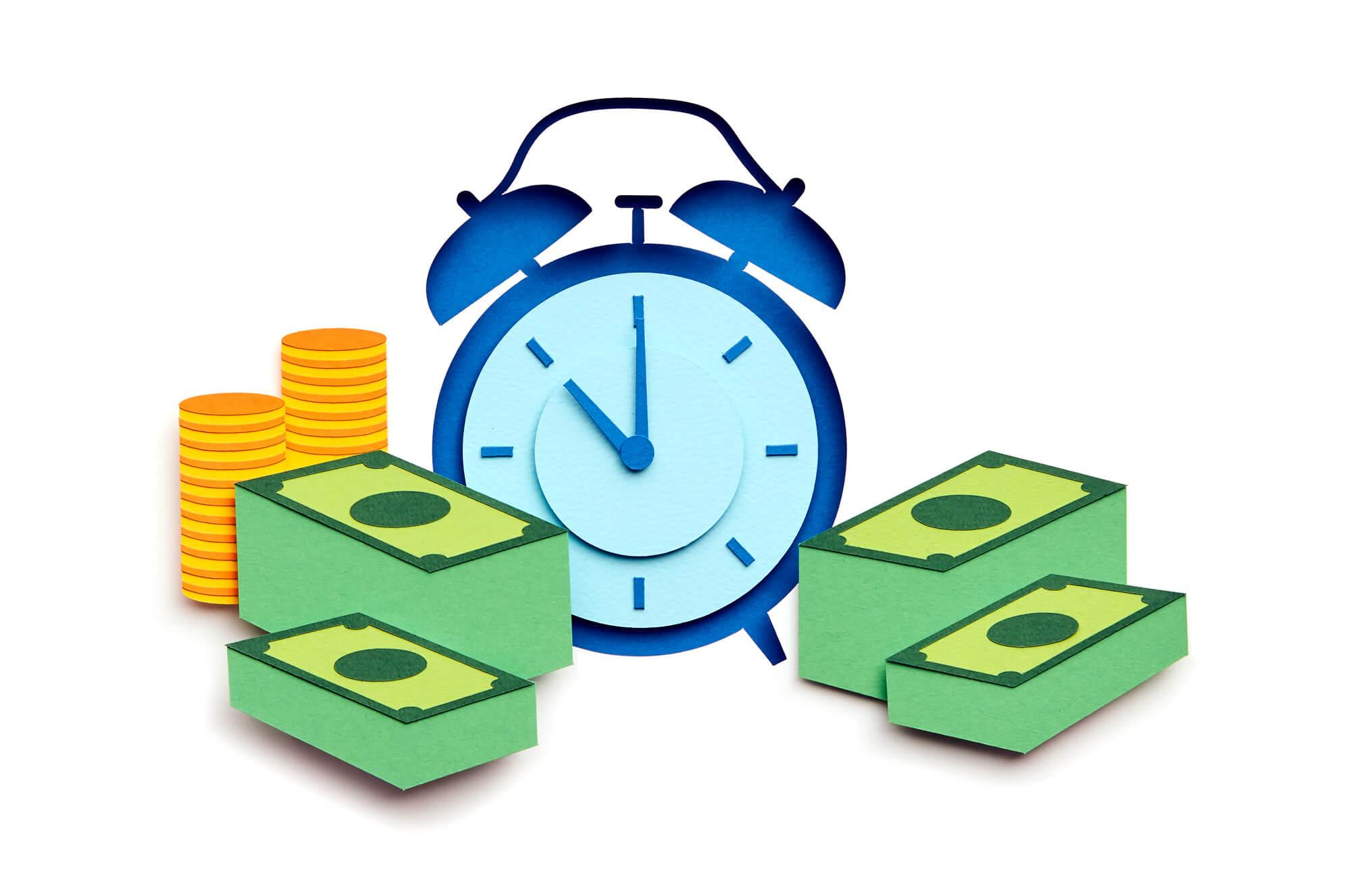 score_Synchronybank_paperart_katrinrodegast_clock